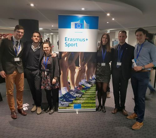 Project's Coordinators meeting at Erasmus+ Sport Info Day in Brussels